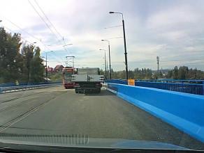 Przejazd Mostem Siennickim okiem kierowcy