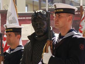 Odsłonięcie pomnika płk. Ryszarda Kuklińskiego w Gdyni