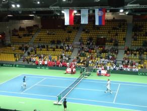 Jerzy Janowicz wygrywa w Gdynia Arenie