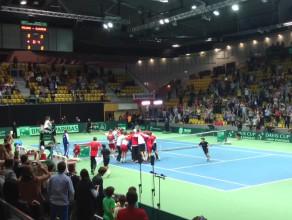 Radość polskich tenisistów po awansie