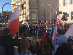 Przyśpiewki antyimigranckich manifestantów cz. II