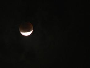 Zaćmienie Księżyca nad Trójmiastem