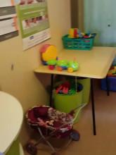 Pokój zabaw na oddziale pediatrycznym