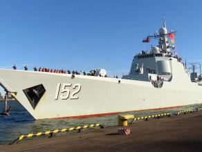 Chińskie okręty zawitały do Gdyni