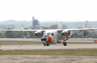 Gdański samolot Straży Granicznej namierzający imigrantów wrócił do bazy
