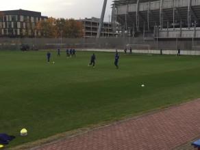 Trening Arki Gdynia przed meczem ze Stomilem Olsztyn