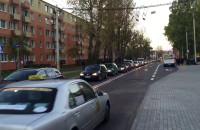 Mega korek na Kartuskiej w Gdyni