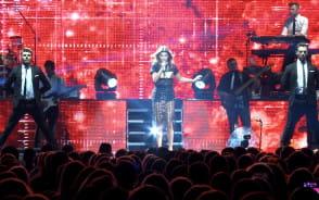 Edyta Górniak zaśpiewała w Ergo Arenie