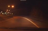 Jazda pod prąd na węźle Owczarnia w Gdańsku