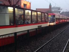 Awaria tramwaju linii 12. Chwilowy ...