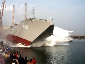 Wodowanie żaglowca w Remontowa Shipbuilding