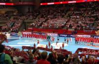Hymn przed Polska - Rosja w Ergo Arenie