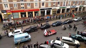 Parada Niepodległości 2015 z okna