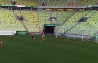 Gol dla Lechii Gdańsk w meczu towarzyskim z Żalgirisem Wilno