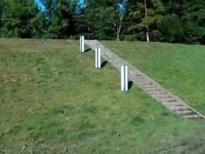 Gdynia Zbiornik Retencyjny Krykulec z zaporą ziemną na potoku Źródło Marii