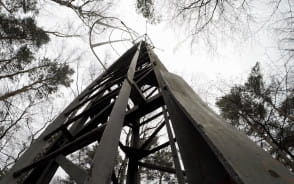 Opuszczona wieża na Rysim Wzgórzu