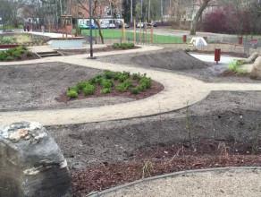 Odnowiony park przy ul. Obodrzyców w Sopocie