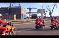 Mikołaje na Motocyklach 2015 - film z trasy