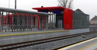 Gotowa po przebudowie stacja Gdańsk Osowa