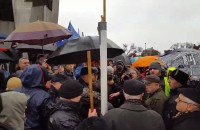 Zwolennicy Andrzeja Dudy