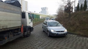 Problemy z wyjazdem z ul. Pomianowskiego w Gdyni