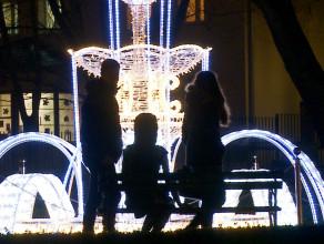 Świąteczne oświetlenie w Gdańsku