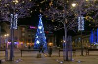 Świąteczne oświetlenie w Sopocie
