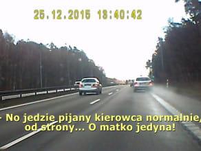 Czytelnik zgłasza pijanego kierowcę pod numer 112
