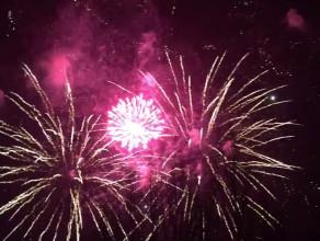Pokaz fajerwerków w Gdyni