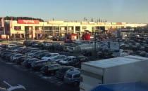 Tłumy w centrum handlowym na Matarni