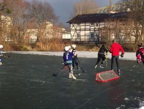 Hokej na kilka boisk na Żabiance