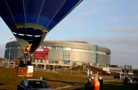 Przy Ergo Arena jest olbrzymi balon