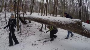 Zimowa wędrówka przez Zielone Płuca Kaszub