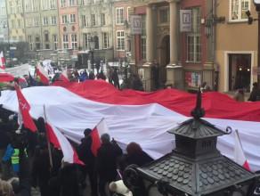 KOD na Długim Targu w Gdańsku