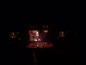 Andrea Bocelli Ergo Arena z publiczności