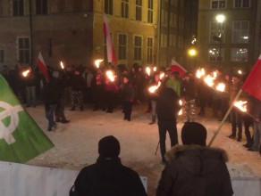 Manifestacja ONR przeciwko imigrantom