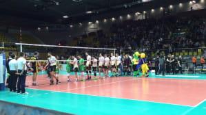 Ostatnia akcja w meczu Lotos Trefl - DHL Modena