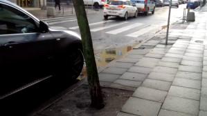 W centrum Gdyni można bezkarnie parkować  przy przejściach