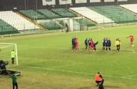 Gol na 2:0 w sparingu Lechia Gdańsk - Zawisza Bydgoszcz