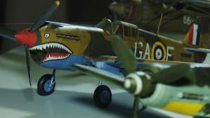 Skleja myśliwce z II wojny światowej
