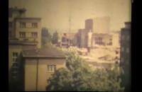 Gdynia skrzyżowanie ul. Świętojańskiej i 10 Lutego w 1974 r.