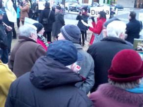 Manifestacja KOD w Gdyni
