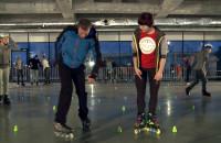 Zobacz jak na rolkach jeździ mistrzyni Polski w slalomie
