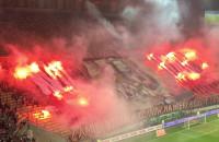 Hymn, race, oprawa na meczu Lechia Gdańsk - Piast Gliwice
