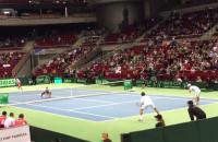 Polscy tenisiści wygrywają debla z Argentyną w Davis Cup