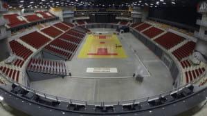 Ergo Arena - różne nawierzchnie