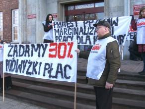 Protest pracowników Opery Bałtyckiej