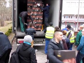 20 ton jabłek trafiło na AWFiS