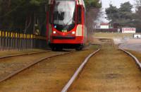 Zły stan trasy tramwajowej na Stogach