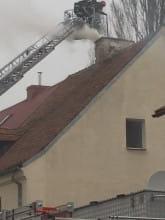 Zapchany komin na strzyzy